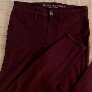 American Eagle stretch skinny pants.